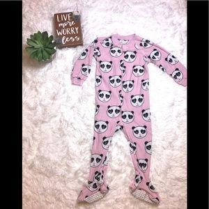Panda Footed Pajamas